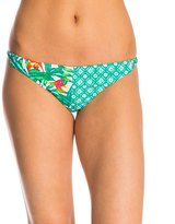 MinkPink Swimwear Panama Palms Cheeky Bikini Bottom 8143393