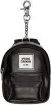 Opening Ceremony Black Backpack Keychain