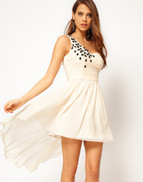 Rare Skater Dress with Jewel Embellishment