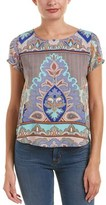 Glam Printed Top.