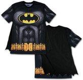 Bioworld BATMAN Men's Sublimated T-shirt With Cape (Large)