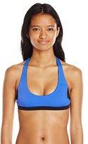 Rip Curl Women's Mirage Color Block Reversible Racerback Bikini Top