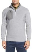 Bobby Jones 'Elements' Merino Wool Quarter Zip Pullover