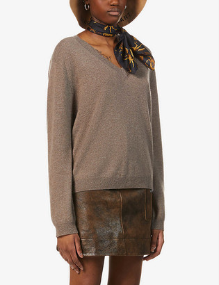 Peoples Republic of Cashmere V-neck cashmere jumper
