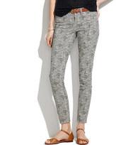 Madewell Skinny Skinny Ankle Jeans in Safari Dot