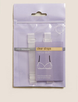 Marks and Spencer Detachable Clear Bra Straps - Standard Width