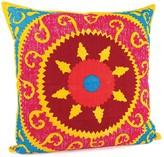 Karma Living Suzani Pillow - 24 x 24 - Multi