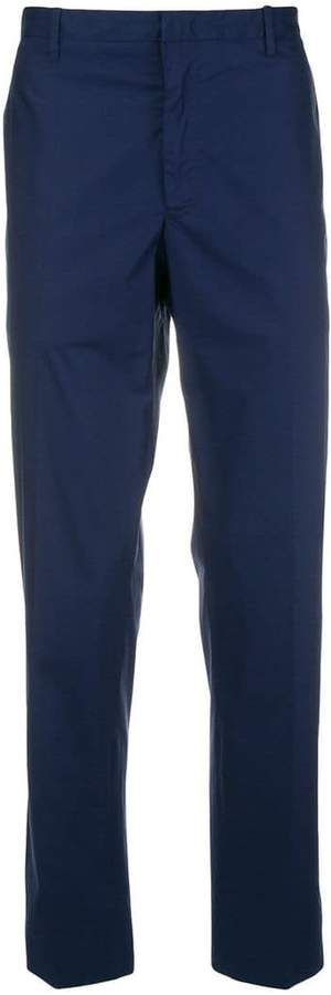 Moncler straight leg chino trousers