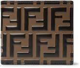 Fendi - Logo-Embossed Leather Billfold Wallet
