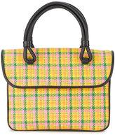 Maryam Nassir Zadeh Lune plaid handbag
