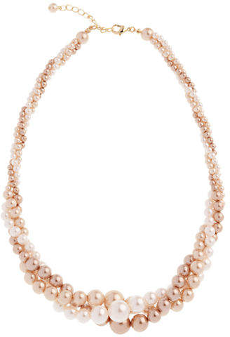 Cezanne 3 Row Pearl Twist Necklace