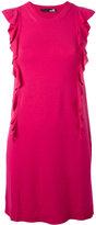 Love Moschino ruffled trim dress - women - Polyester/Viscose - 38
