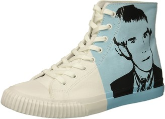 Calvin Klein Jeans Men's Iconic Canvas/Warhol Print 3 Sneaker