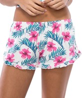 Spiritual Gangster Hibiscus Floral Shorts
