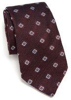 Ike Behar Grenadine Silk Tie