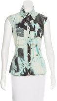 Just Cavalli Printed Sleeveless Top