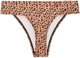 Seareinas Argentina High Cut Cheeky Bikini Bottom Leopard Print Barbados