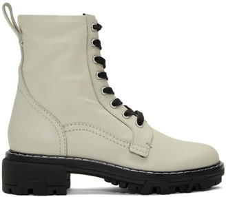 Rag & Bone Off-White Shiloh Boots