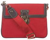 JPK Paris75 Signature Fabric Olivia Convertible Bag w/ Leather Trim
