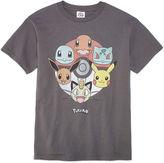 Pokemon Short Sleeve T-Shirt-Big Kid Boys