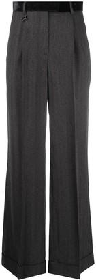 Lorena Antoniazzi Tailored Wide-Leg Trousers