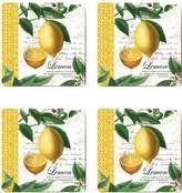 Cala Home Citron Coasters (Set of 4)