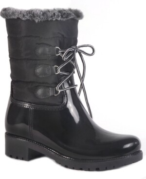 dav Helena Waterproof Women's Mid Height Rain Boot Women's Shoes