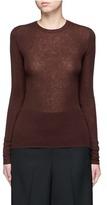 Vince Cashmere rib knit sweater
