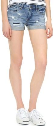 Blank NYC Women's Denim Distressed Cuffed Short