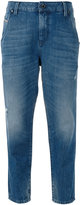 Diesel cropped jeans - women - Cotton/Lyocell - 24/30