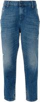 Diesel cropped jeans - women - Cotton/Lyocell - 24/30