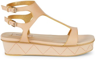 Valentino Garavani Leather Platform Sandals