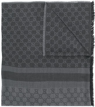 Gucci Pre-Owned jacquard GG logo scarf