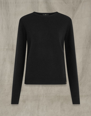 Belstaff ENGINEERED CREW NECK Black