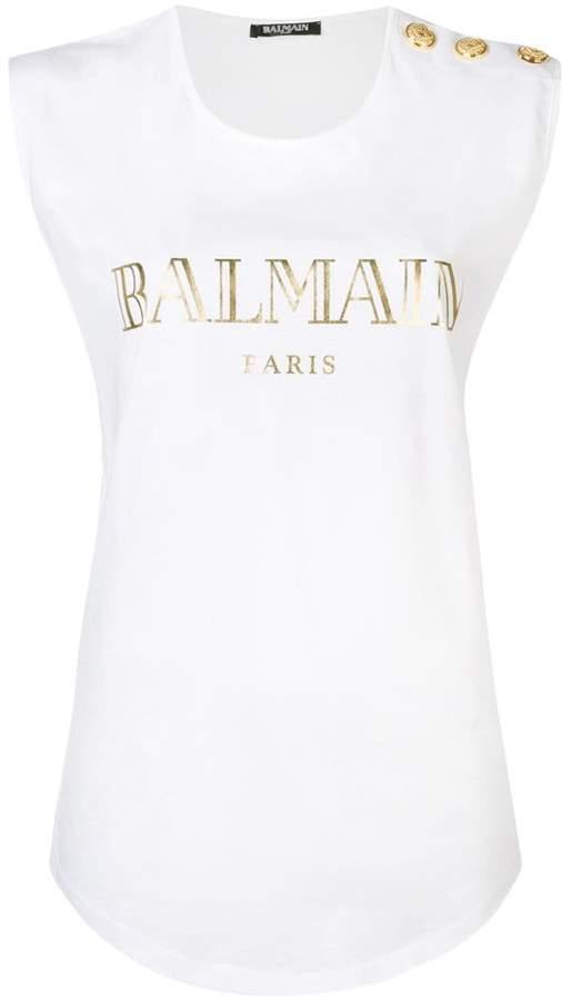 85a52e7b Balmain Women's Tank Tops - ShopStyle