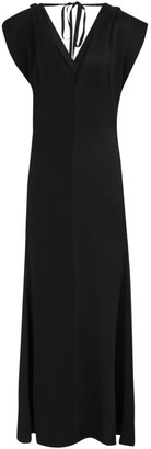 Victoria Beckham Double V Midi Dress