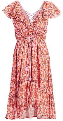 Figue Tahlia Ruffle High-Low Dress