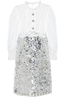 Miu Miu Embellished minidress