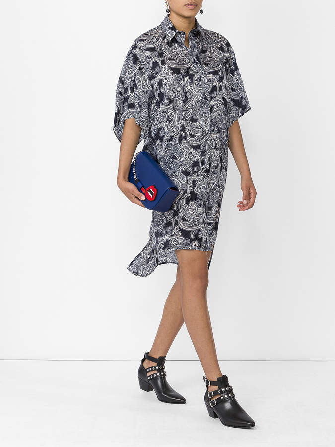 Acne Studios Debrah paisley shirt dress