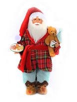 Milk and Cookies Santa Figurine