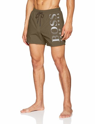 HUGO BOSS Men's Octopus Swim Shorts Blue (Navy) XX-Large