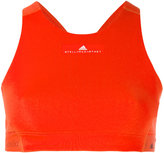 adidas by Stella McCartney logo detail crop top