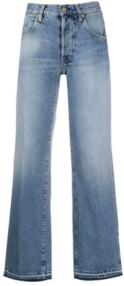 Golden Goose Ava high-rise wide-leg jeans