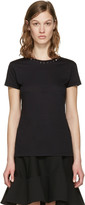 Valentino Black 'Rockstud Untitled' 09 T-Shirt