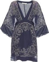 Mes Demoiselles Balboa bandana-print cotton dress