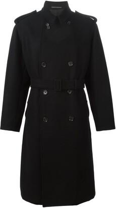 Yohji Yamamoto Pre Owned Oversized Trench Coat