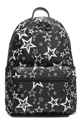 Dolce & Gabbana Vulcano Nylon Print Backpack