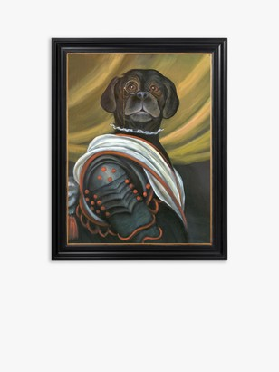 Unbranded Angus The Dog - Framed Canvas, 41 x 36.5cm, Multi