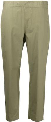 Erika Cavallini High-Rise Cropped Skinny Trousers