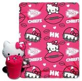 Hello Kitty NFL Chief Blanket and Hugger Bundle (40 x 50)